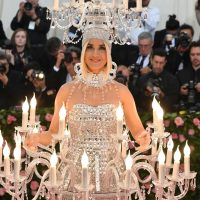 US singer/songwriter Katy Perry arrives for the 2019 Met Gala