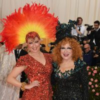 Sophie Von Haselberg and Bette Midler arrive for the 2019 Met Gala