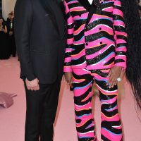 Georges LeBar and RuPaul arrive for the 2019 Met Gala