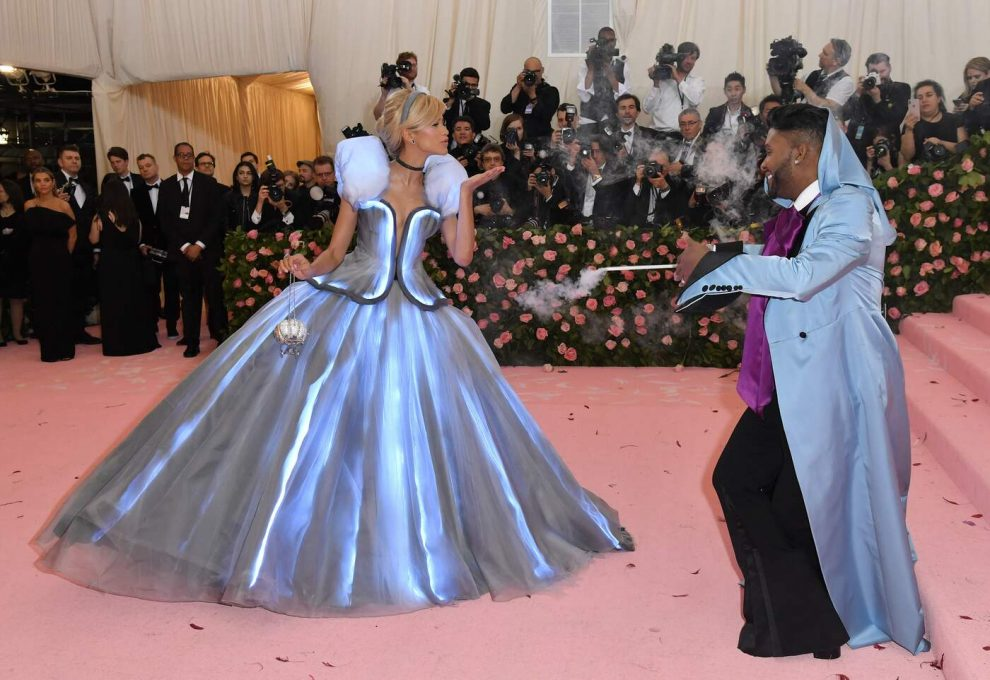 Zendaya and Law Roach arrive for the 2019 Met Gala