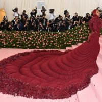 Cardi B arrives for the 2019 Met Gala