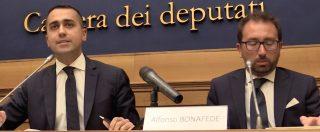 """Corruzione, Di Maio e Bonafede: """"Tangentopoli mai finita"""". Poi l'appello ai partiti: """"Non bastano leggi, cacciate i corrotti"""""""