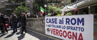 Casal Bruciato, nuova protesta contro i rom. L'assenza dello Stato è un pugno nello stomaco