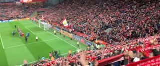 Liverpool-Barcellona 4-0, l'emozionante boato di Anfield Road sulle note di You'll never walk alone