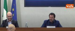 """Siri, Salvini: """"Virginia Raggi è indagata da anni ed è al suo posto. Se uno vale uno, inchiesta vale inchiesta"""""""