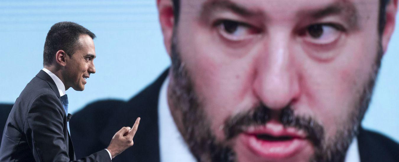 """Salone libro Torino, Salvini: """"Escluso Altaforte? E' censura"""". Di Maio: """"Polacchi provoca. Costituzione è antifascista"""""""