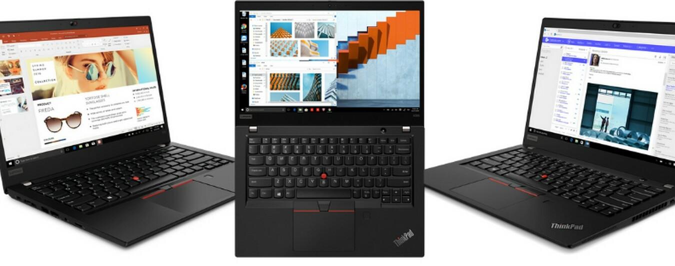 Lenovo arricchisce i notebook ThinkPad, nuovi modelli ultrasottili con processori AMD