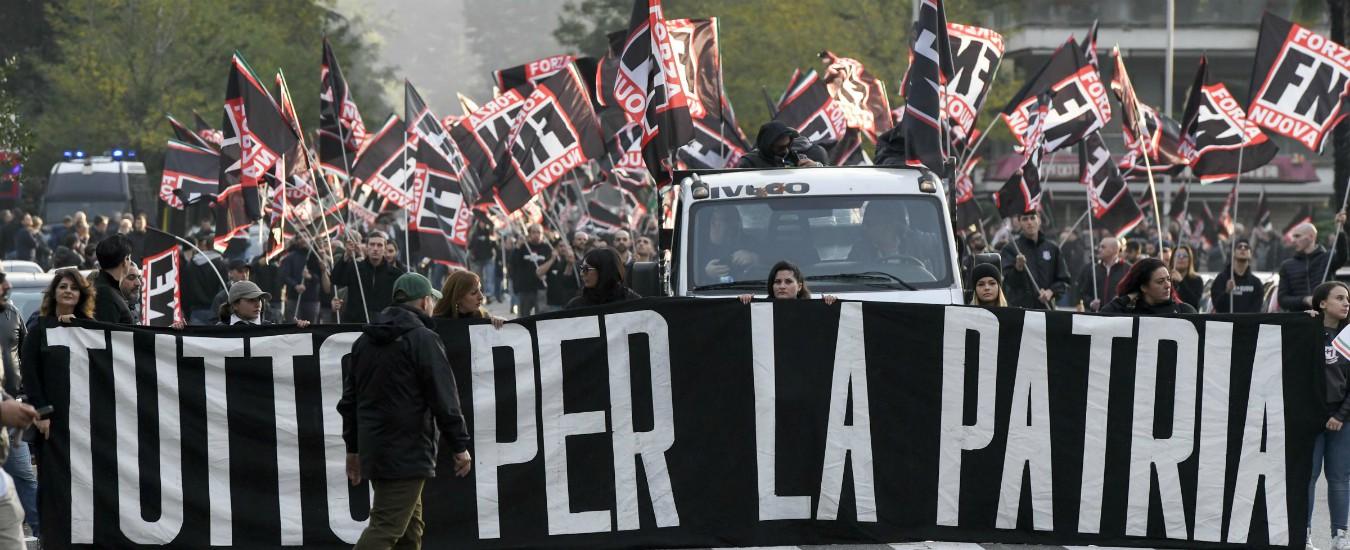 Torino, archiviata indagine su Casapound e Forza Nuova: sulla base del materiale raccolto, non violano la legge Scelba