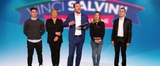 """""""Gioca e vinci Salvini"""". Il ministro dell'Interno fa la televendita elettorale di se stesso: """"Con la rete vinciamo"""""""