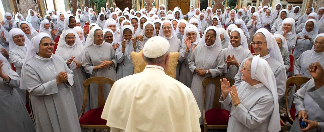 """Papa: """"L'abuso delle suore è un problema serio, non solo quello sessuale ma anche di potere. Il servizio sì, la servitù no"""""""