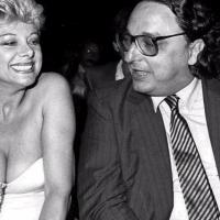 Sandra Milo e Gianni De Michelis al Premio Minerva 1983