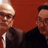 Gianni De Michelis e Bettino Craxi