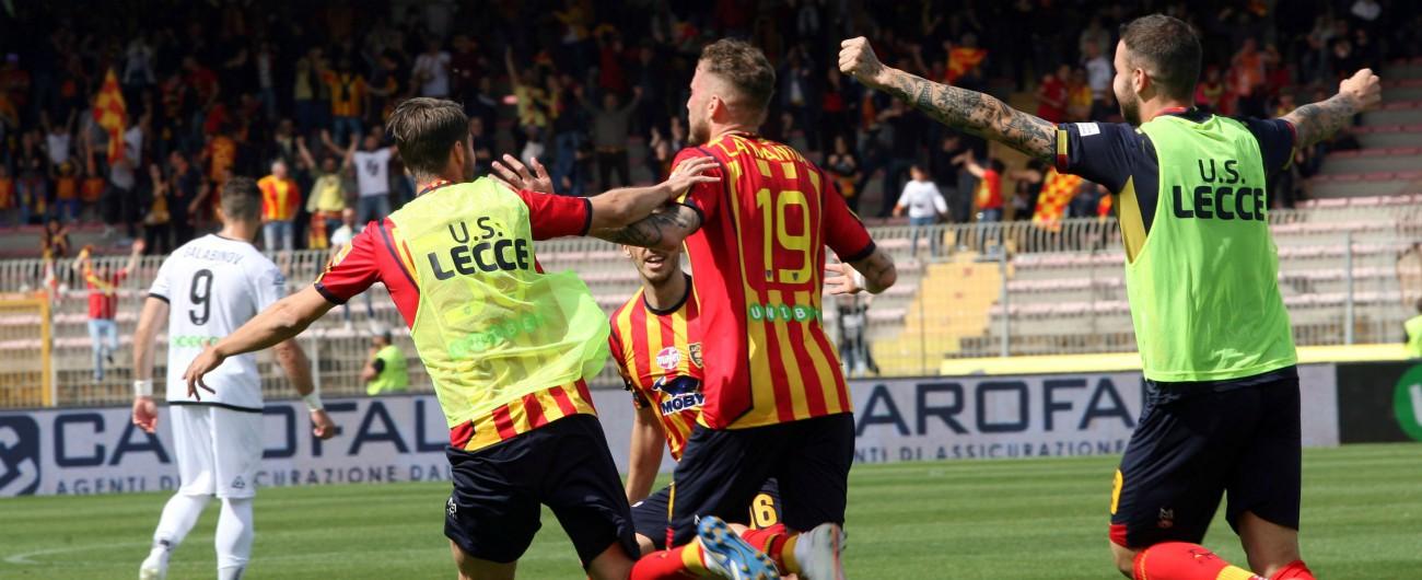Serie B, il Lecce torna in serie A dopo 7 anni. Retrocessi Carpi, Padova e Foggia, in attesa di playoff e playout