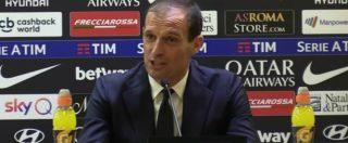 """Juventus, Allegri: """"Sono stato vicino alla Roma, ma ho un contratto e sono contento di rimanere qui"""""""