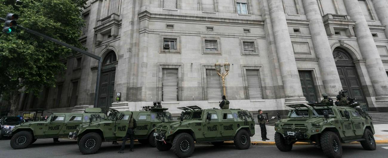 Argentina, allarme bomba alla Casa Rosada e alla Camera dei Deputati