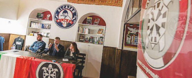 """CasaPound esce allo scoperto: """"L'antifascismo è il male d'Italia"""""""
