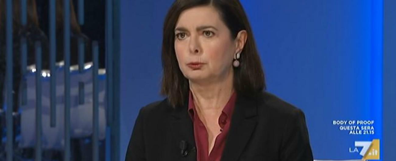 """Europee, Boldrini: """"Voterò Pd, perché non è stata possibile la lista unica a sinistra"""". Zingaretti: """"Rafforza il nostro progetto"""""""