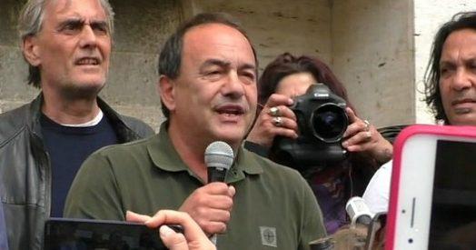 """Roma, Lucano alla Sapienza: """"Salvini contestato anche in Calabria, ma è lui che ha creato clima di divisione e odio"""""""