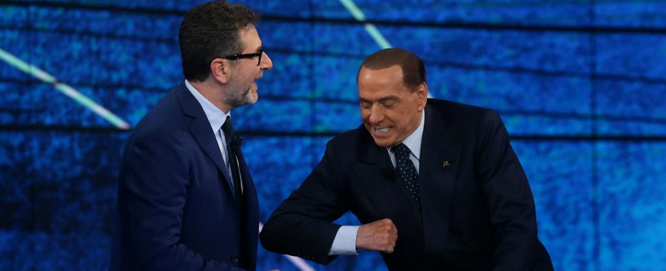 Rai, Berlusconi dimentica l'Editto bulgaro: 'Mai fatto. Grave censura su Fabio Fazio. Conflitto d'interessi? Vogliono eliminarmi'