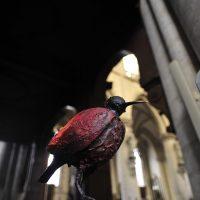 """Una delle dieci figure nascoste in Notre Dame de la Chappelle protagoniste della """"Grande fuga"""""""