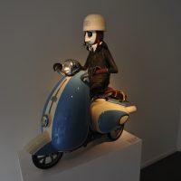 Non solo Bruegel: opera moderna in una galleria a Bruxelles
