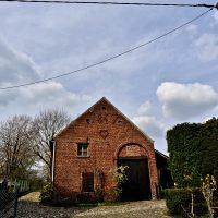 Tipica casa fiamminga. Non è cambiato molto dai tempi di Bruegel