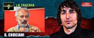 """La Zanzara, Cruciani replica alle accuse di Lerner: """"Coi mie"""