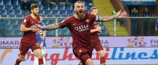 """Daniele De Rossi lascerà la Roma: """"Con il Parma ultima partita"""". Il capitano: """"Avrei continuato ma devo accettare loro scelte"""""""