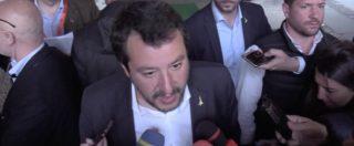 """Salvini a Di Maio: """"Vedo troppi accoppiamenti tra Pd e M5S. Per 11 mesi ho mantenuto parola, M5s rispetti patti"""""""
