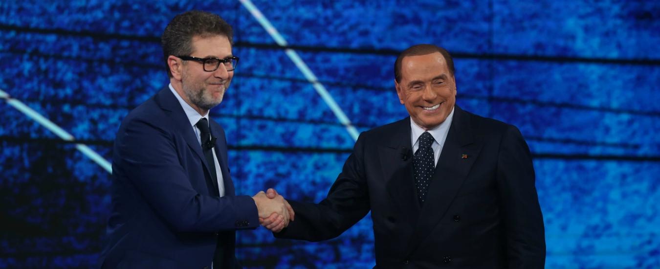 Su Fazio Berlusconi ha fatto il Berlusconi. Come ribalta la frittata lui…