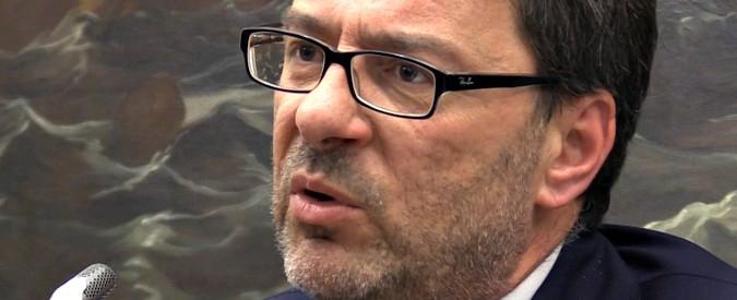 """Procedura d'infrazione, Giorgetti: """"Rinvio non sia escamotage anti flat tax. Io commissario Ue? Non succederà"""""""