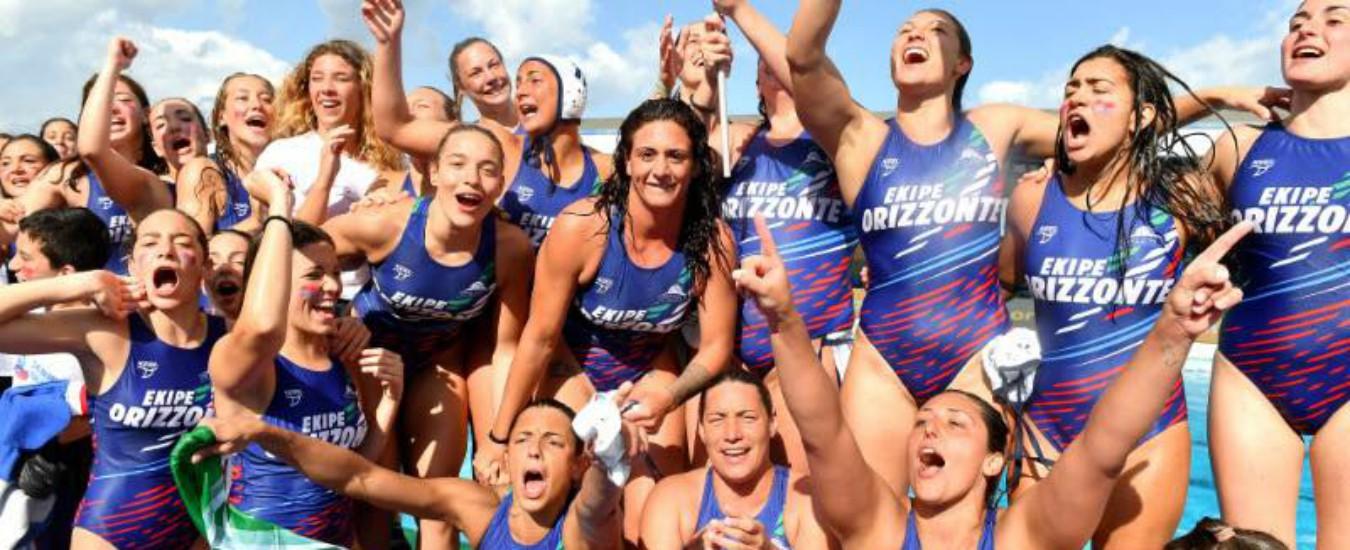 Se Palermo piange (sportivamente), Catania trionfa con la pallanuoto femminile