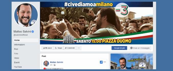 """Lega, L'Espresso: """"Soldi pubblici usati per pagare propaganda personale di Salvini"""""""