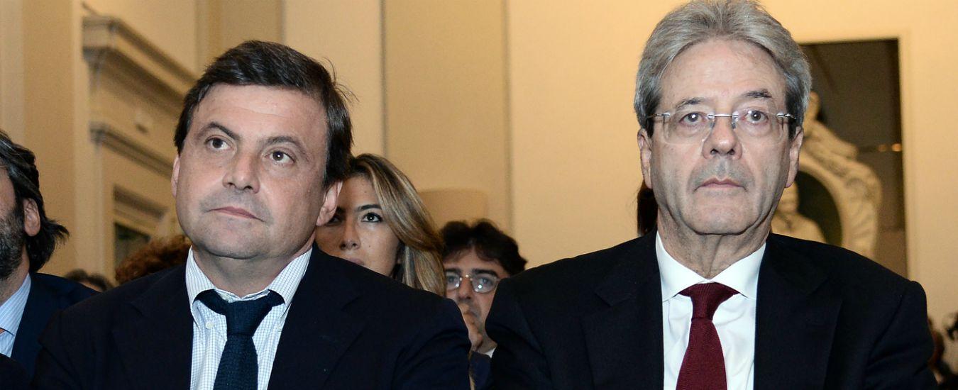 """Europee. Pd contro governo 'pericoloso', ma è lui a evocare per primo l'Italexit. Gentiloni: """"Isolati"""". Calenda: """"C'è rischio"""""""
