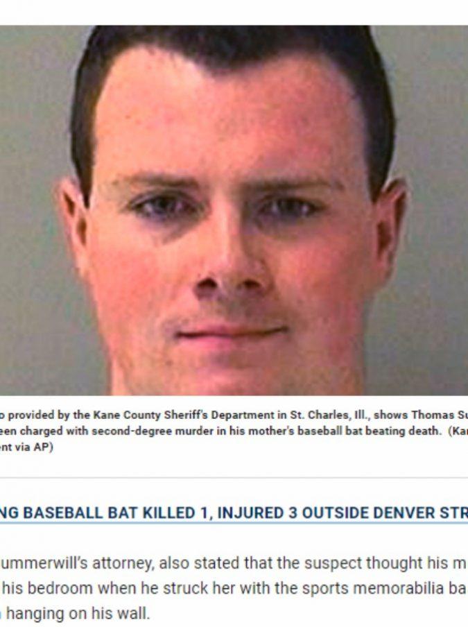 Prende la mazza da baseball e massacra di botte un presunto ladro: solo dopo si accorge che si tratta della madre