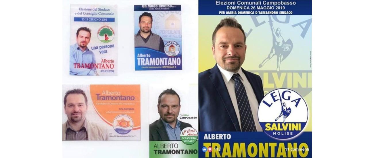 Campobasso, il candidato gattopardo della Lega che ha cambiato casacca in ogni elezione degli ultimi 15 anni