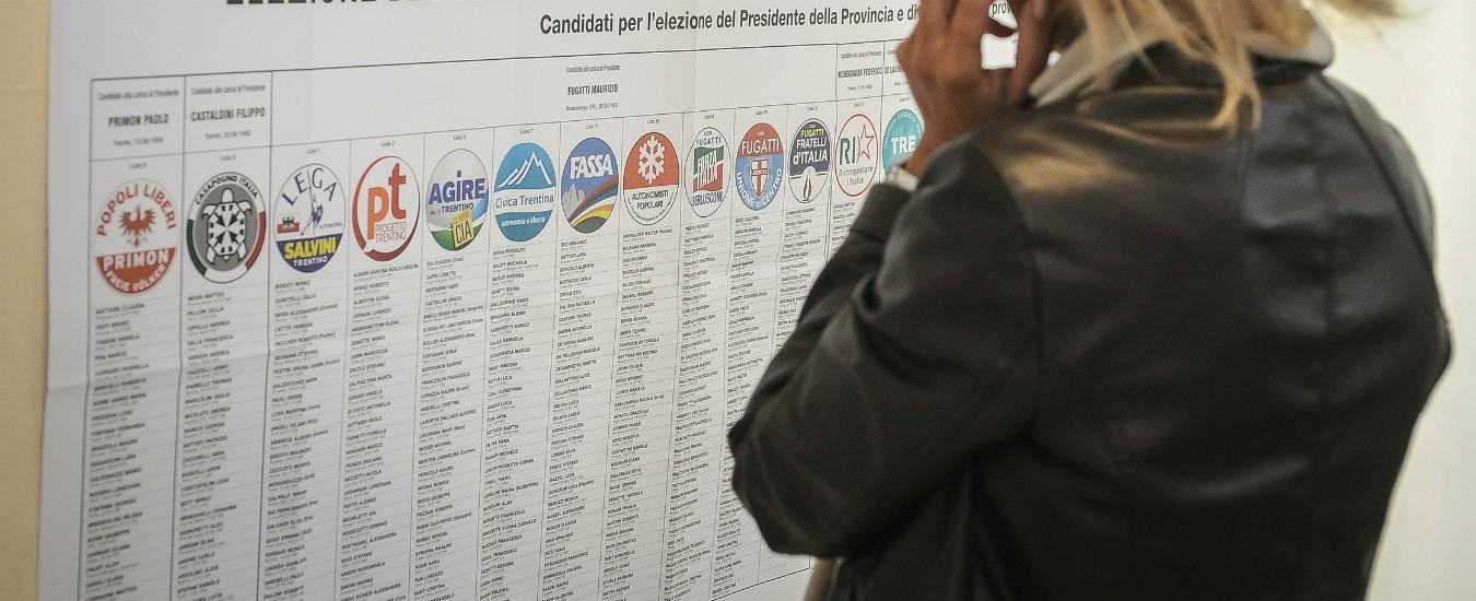 Elezioni europee 2019, capilista e candidati nella