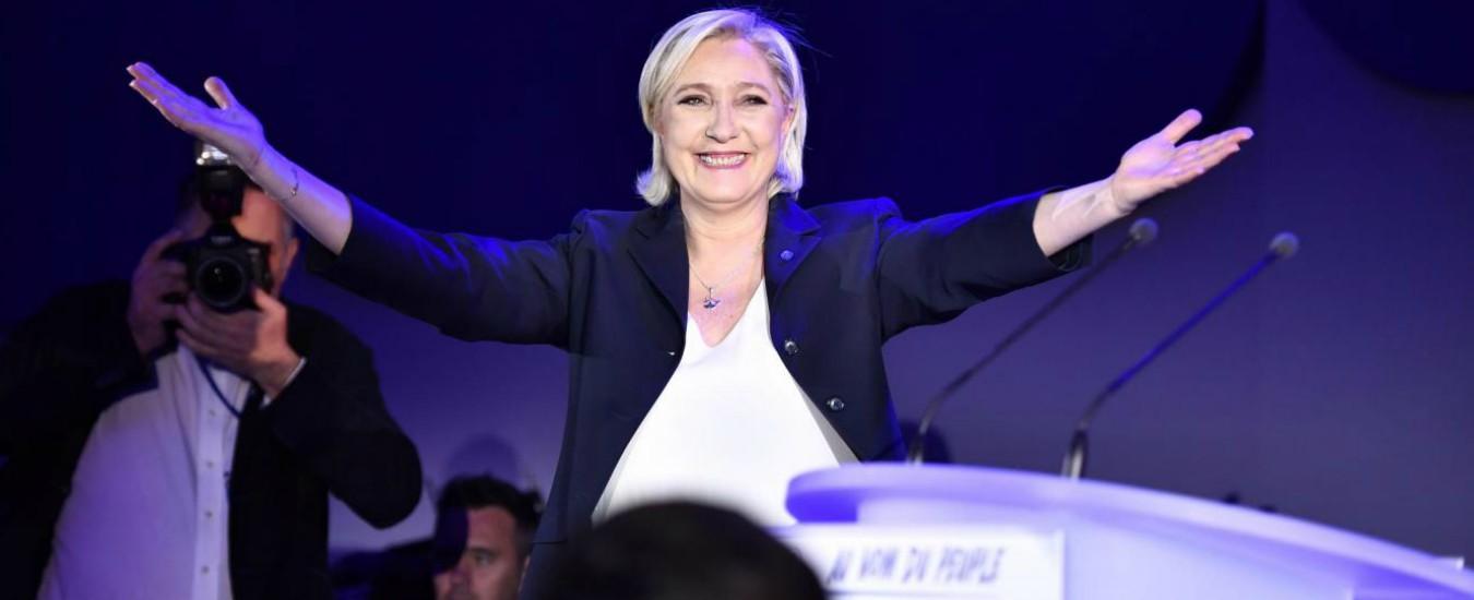 "Europee in Francia, nei sondaggi Le Pen batte Macron: sovranisti al 23,5 En Marche al 22,5. Lei: ""Exploit storico"""