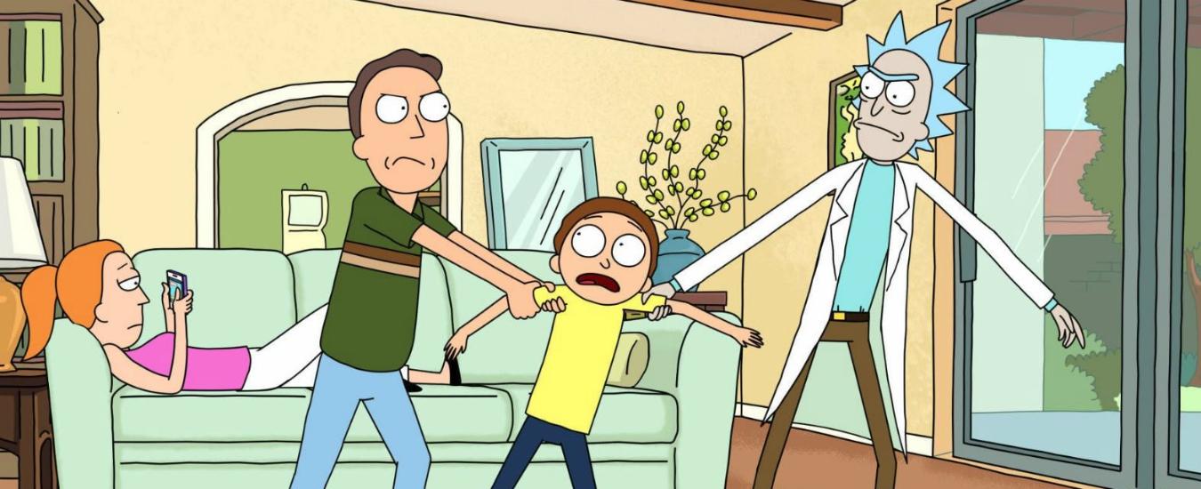 Rick and Morty, ecco il Ritorno al futuro 2.0 tra multiversi e assurdità