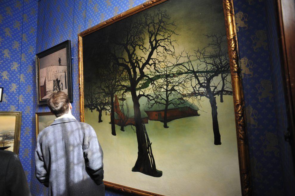 La mostra di artisti contemporanei nel castello di Gaasbeek
