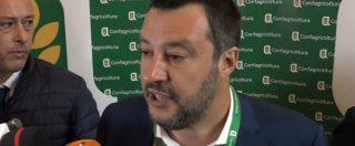 """Milano, Salvini prima della manifestazione della Lega: """"Striscioni? Non ne ho visto nemmeno uno"""""""