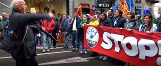 """La piazza di Milano per Salvini e i sovranisti: """"Con la Lega per cambiare l'Europa (o uscirne)"""". Videoracconto della giornata"""
