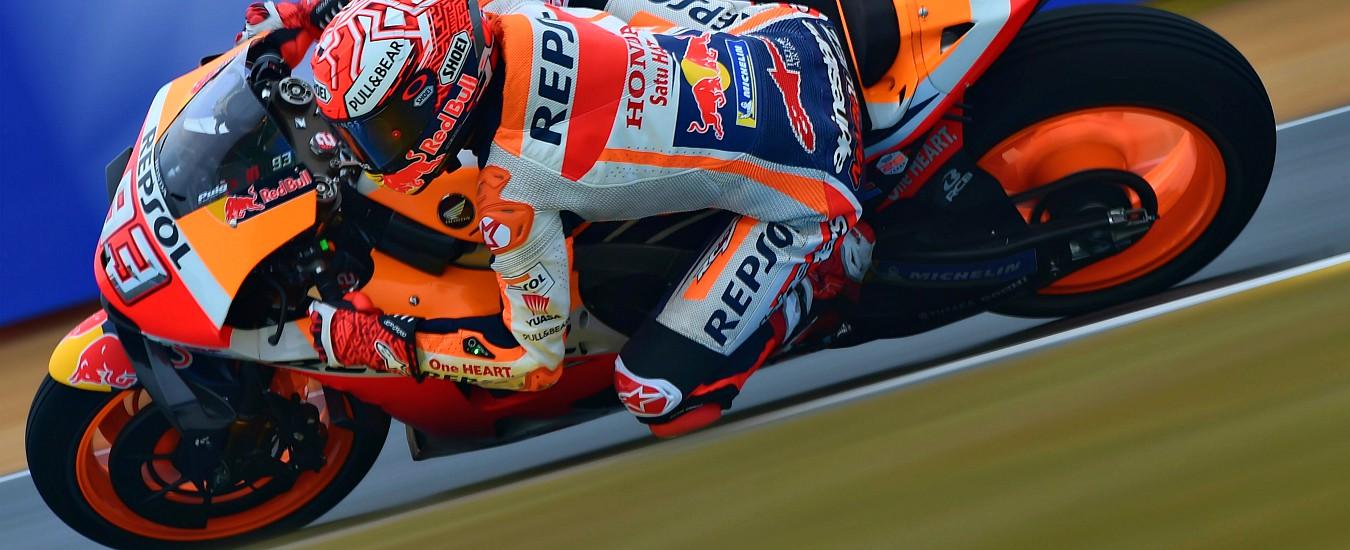 MotoGp Francia, vince Marquez davanti a Dovizioso e Petrucci. Rossi quinto