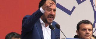 """Salvini a Papa Francesco: """"Bisogna fare, non parlare. I morti in mare sono diminuiti"""". Fischi dalla piazza per Bergoglio"""