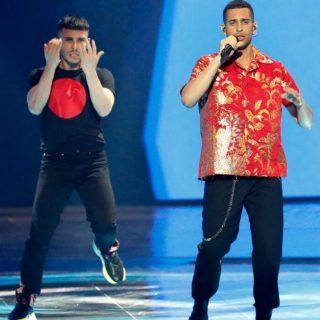Eurovision, Mahmood canta sul palco e nel dietro le quinte g