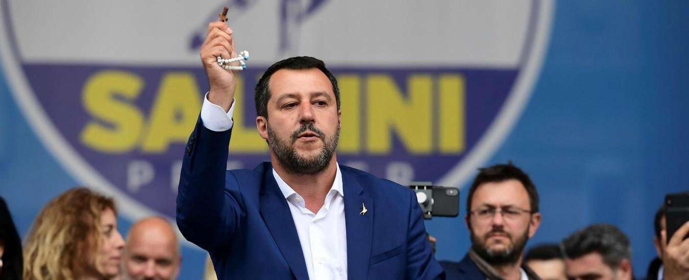 Salvini invoca la Madonna e attacca il Papa. Ma il mondo cattolico non combatte abbastanza