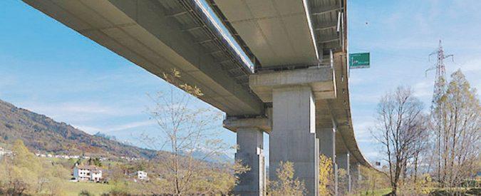 Due viadotti del Veneto nell'inchiesta Autostrade
