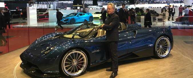 """Horacio Pagani: """"L'ispirazione per le mie auto? Leonardo e il corpo delle donne"""""""