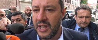 """Sea Watch, Salvini: """"Sbarco iniziativa della Procura. La magistratura impone la sua legge, spero sia l'ultima volta"""""""