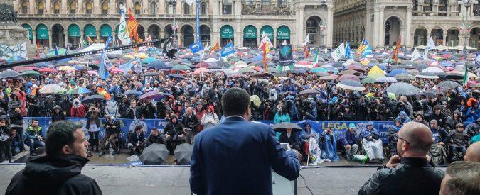 Sono andato nella piazza di Salvini e quelle espressioni azzerate mi hanno intenerito